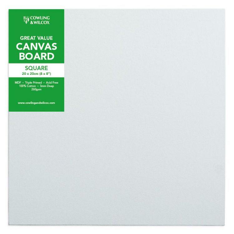 canvas board