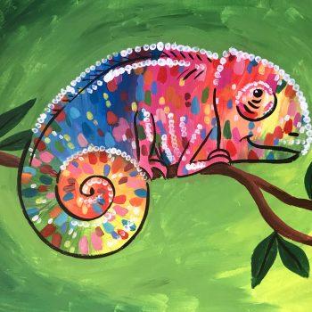 multcoloured chameleon